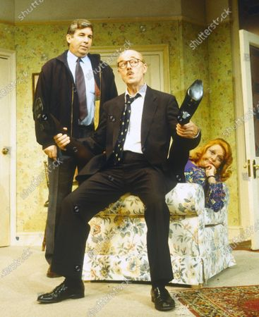 Editorial photo of 'Funny Money' Play performed at the Playhouse Theatre, London, UK 1995 - 19 Apr 2020