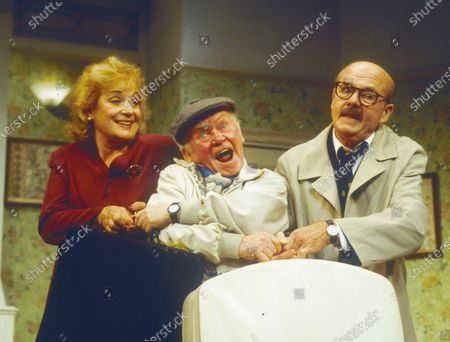 Stock Image of Sylvia Syms Charlie Drake Ray Cooney