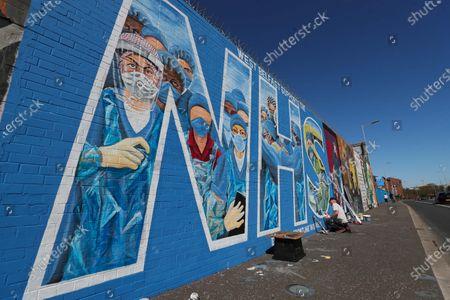 Editorial photo of Coronavirus outbreak, Belfast, Northern Ireland - 20 Apr 2020