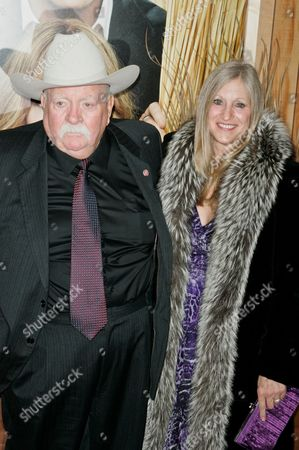 Wilford Brimley and guest