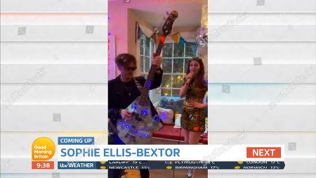 Stock Image of Richard Jones, Sophie Ellis-Bextor