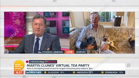 Piers Morgan, Martin Clunes