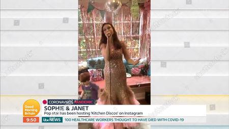 Editorial photo of 'Good Morning Britain' TV Show, London, UK - 21 Apr 2020