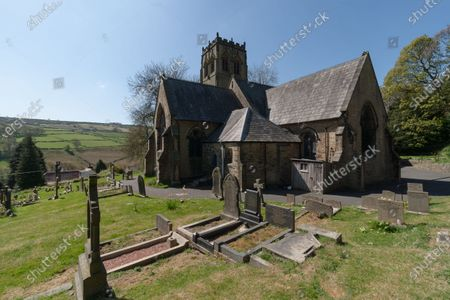 St John's Parish Church in Upperthong in the Holme Valley. Actors Bill Owen and Peter Sallis are buried next to each other, overlooking Holmfirth.