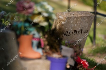 Editorial photo of Last of the Summer Wine actors buried next to each other, Holmfirth, UK - 21 Apr 2020