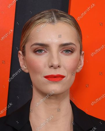 """Betty Gilpin arrives at the LA Special Screening of """"The Hunt"""" at the ArcLight Hollywood on in Los Angeles"""