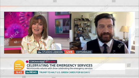 Lorraine Kelly and Nick Knowles