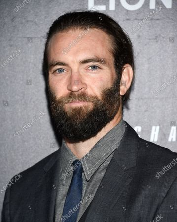"Director Sam Hargrave attends the world premiere of ""John Wick: Chapter 3 - Parabellum"" in New York. Hargrave directed the Netflix film ""Extraction"" starring Chris Hemsworth, released on Friday"