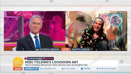 Editorial photo of 'Good Morning Britain' TV Show, London, UK - 23 Apr 2020