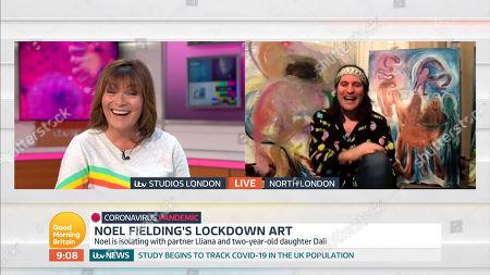 Editorial image of 'Good Morning Britain' TV Show, London, UK - 23 Apr 2020