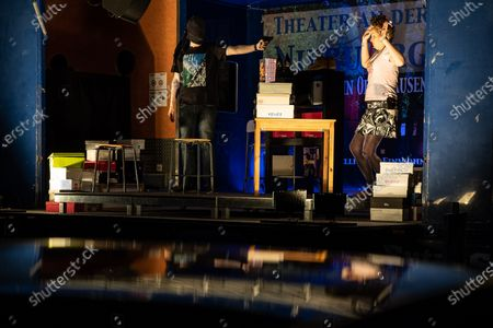 Editorial image of Unusual theater experience: Drive-in Theater at Niebuhrg in Oberhausen, Germany - 22 Apr 2020