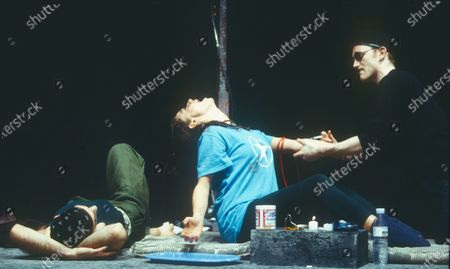 Editorial picture of 'Trainspotting' Play performed at the Ambassadors Theatre, London, UK 1995 - 23 Apr 2020