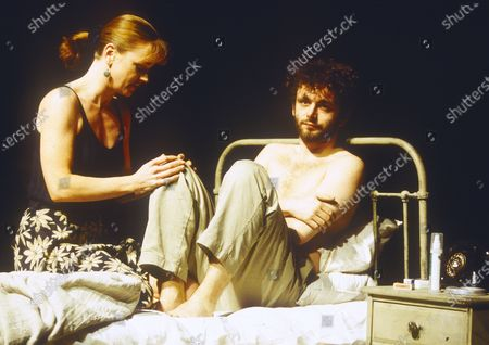 Editorial image of 'Ends of the Earth' Play performed at the Cottesloe Theatre, National Theatre, London UK 1996 - 23 Apr 2020