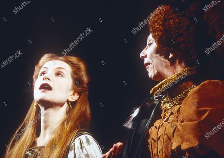 Editorial picture of 'Mary Stuart' Play performed at the Lyyttelton Theatre, National Theatre, London, UK 1996 - 23 Apr 2020