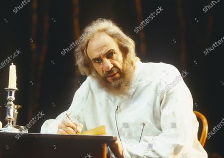Editorial image of 'Tolstoy' Play performed at the Aldwych Theatre, London, UK 1996 - 23 Apr 2020