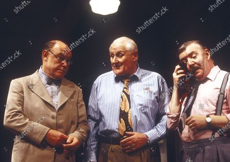 Stock Picture of Timothy West. Peter Vaughan. Tony Haygarth
