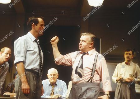 Editorial photo of 'Twelve Angry Men' Play performed at the Comedy Theatre, London, UK 1996 - 23 Apr 2020