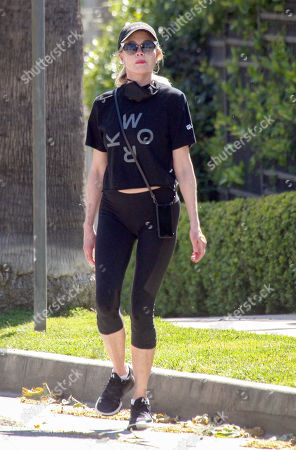 Melanie Griffith takes a walk