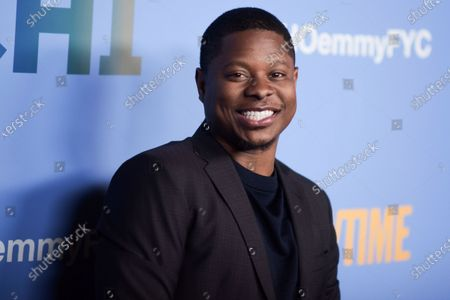 """Jason Mitchell at """"The Chi"""" FYC Event in Los Angeles. The star of the hit Showtime series """"The Chi"""" who was also featured in the film """"Straight Outta Compton"""" has been arrested on drugs and weapons charges. A Mississippi sheriff says Jason Mitchell was arrested, during a traffic stop in Gulfport"""