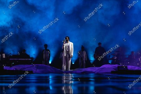 Stock Picture of Marco Mengoni