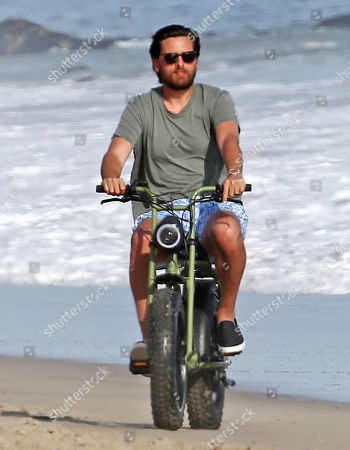 Editorial image of Scott Disick out and about on the beach, Malibu, Los Angeles, USA - 24 Apr 2020