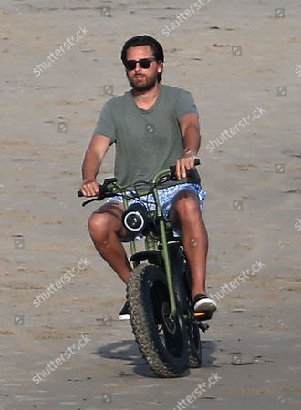 Editorial photo of Scott Disick out and about on the beach, Malibu, Los Angeles, USA - 24 Apr 2020