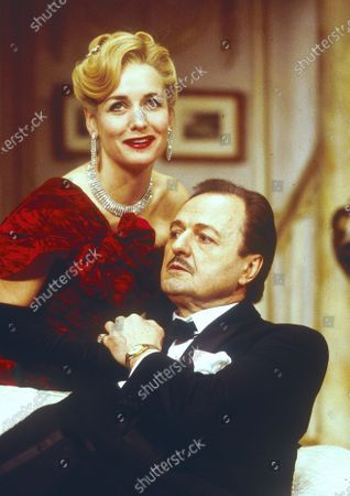 Stock Picture of Caroline Langrishe. Peter Bowles