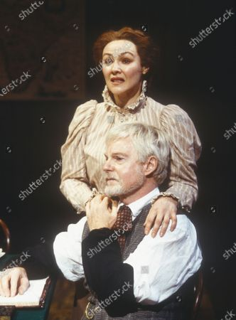 Stock Picture of Frances Barber. Derek Jacobi