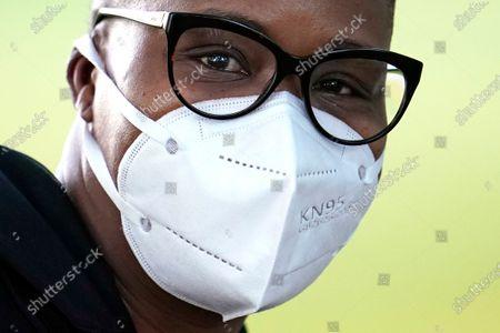 Editorial image of Virus Outbreak Texas Masks, Houston, United States - 27 Apr 2020