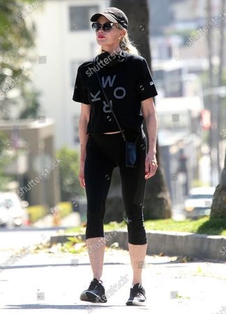 Editorial image of Melanie Griffith out and about, Los Angeles, California, USA - 23 Apr 2020