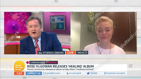 Piers Morgan, Rose McGowan