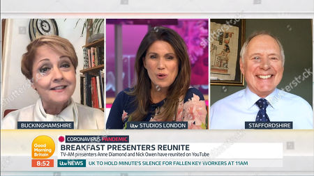 Anne Diamond, Susanna Reid, Nick Owen