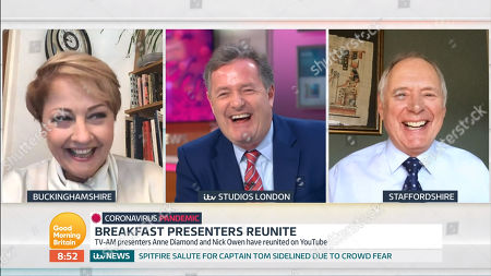 Anne Diamond, Piers Morgan, Nick Owen