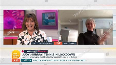 Lorraine Kelly, Judy Murray