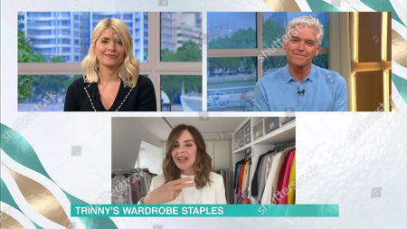 Holly Willoughby, Phillip Schofield, Trinny Woodall