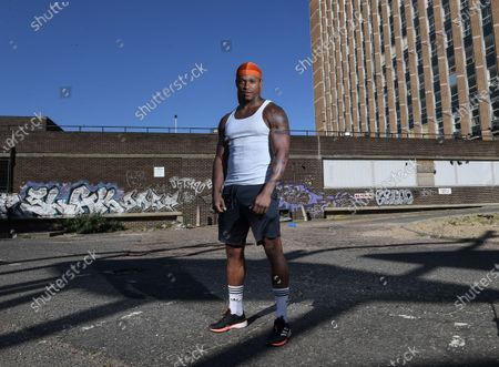 Stock Image of Running in the park has become a blessing and a curse for Anthony Yarde. With each stride he feels the grief departing through his feet, but then the sight of so many people mingling reminds him of the problem all over again. Why don't they listen, he asks himself on those training routes through Ilford, east London. Why are the rules on social distancing so hard for these people to follow? It baffles him. But on he runs, knowing that not so long ago he, too, didn't feel so strongly. He does now, of course, as anyone would if they had faced what he has in the past few weeks. On March 27, his father was lost to coronavirus; on April 2, his paternal grandmother also fell to it. His hope is his experience and profile as a world-title challenger can persuade folk to keep to the guidelines. That is why he's on the line to Sportsmail now, in his first interview since they passed. 'I just want people to understand,' he says. 'Don't do it. Just stay home or keep apart.' He pauses and then adds: 'I know I am kind of guilty of it, too. When it all got announced that people couldn't leave their house, I listened because I didn't want to take any risks, but it doesn't sink in fully how real it is or can be. Only experience can tell you, I guess, and maybe my experiences can help others. 'I hope it does because people are still not listening - I see it whenever I run in the park.