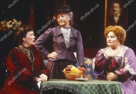 Editorial picture of 'When We Are Married' Play performed at Chichester Festival Theatre, East Sussex, UK 1996 - 28 Apr 2020