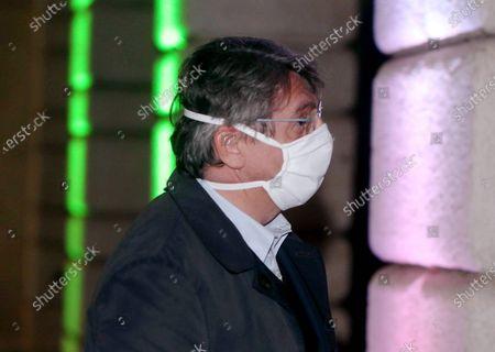 Editorial image of Italy Prime Minister Giuseppe Conte coronavirus emergency press conference, Brescia, Italy - 28 Apr 2020