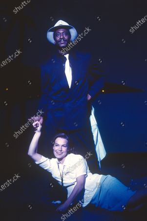 Editorial photo of 'Guys and Dolls' Musical performed in the Olivier Theatre, National Theatre, London, UK 1996 - 28 Apr 2020