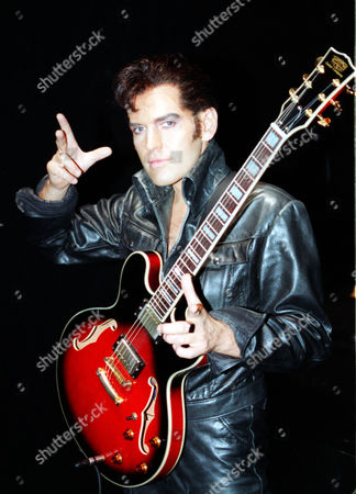 Actor Tim Whitnall Who Plays Elvis In The Stage Show 'elvis-the Musical'.