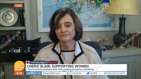 Stock Picture of Cherie Blair