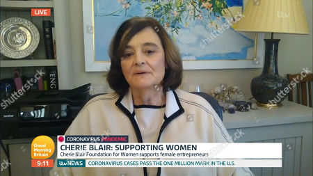 Stock Image of Cherie Blair
