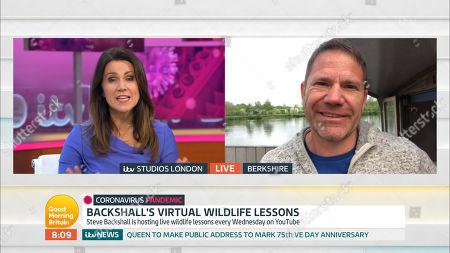 Editorial image of 'Good Morning Britain' TV Show, London, UK - 29 Apr 2020