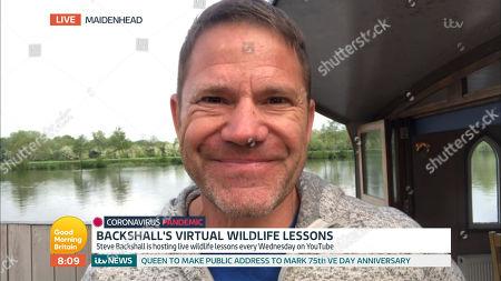 Stock Image of Steve Backshall