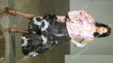 London Fashion Week - Singer Sophie Ellis Bextor On The Catwalk For The Fashion East Show.