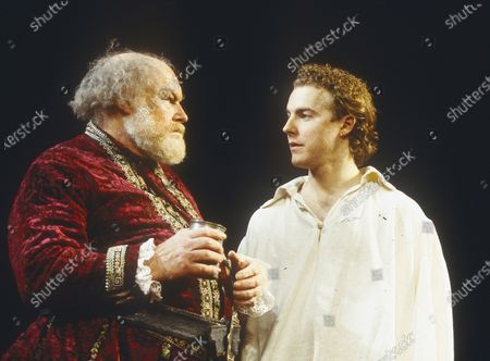 Stock Image of Timothy West. Samuel West