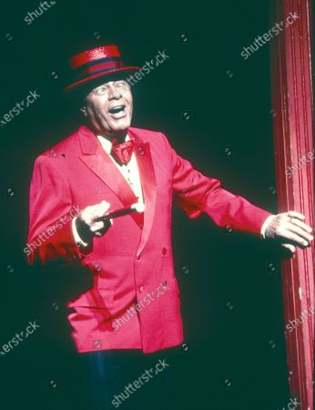 Editorial image of Jerry Lewis performing in 'Damn Yankees' Musical at the Adelphi Theatre, London, UK 1997 - 29 Apr 2020