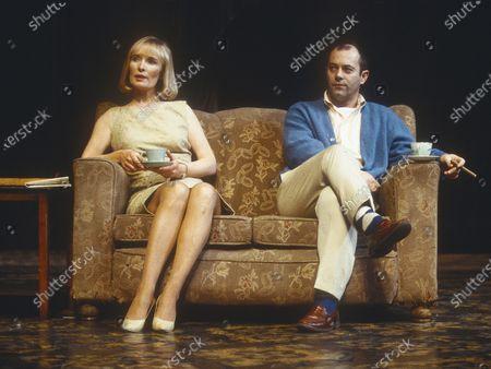 Lindsay Duncan. Keith Allen
