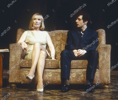 Stock Image of Lindsay Duncan. Michael Sheen