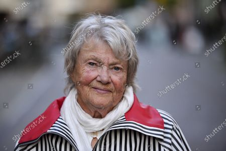 Stock Picture of Swedish crime author Maj Sjowall
